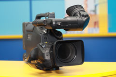 Professional digital video camera Stock Photo