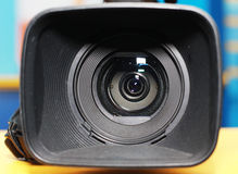 Professional digital video camera Royalty Free Stock Photography