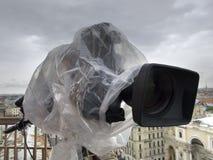 Professional digital video camera Royalty Free Stock Photos