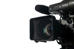 Professional digital video camera Stock Image