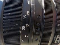 Professional digital video camera. Royalty Free Stock Photography