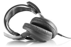 Professional dj headphones Stock Image