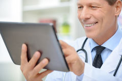 Professional doctor involved in work Stock Photo