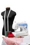 Professional dressmaker equipment Stock Images