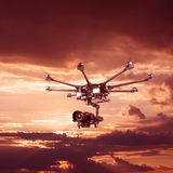 The professional drone Stock Images