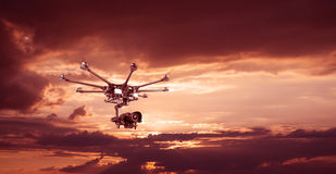 The professional drone Royalty Free Stock Image