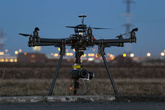 Professional drone Stock Image