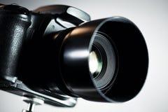 Professional DSLR camera royalty free stock photo