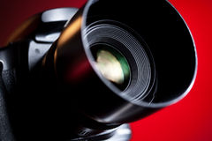 Professional DSLR camera close-up Stock Photography