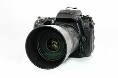 Professional DSLR camera royalty free stock images