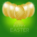 Professional Easter Eggs Illustration. Professional eggs illustration, happy easter Royalty Free Stock Images