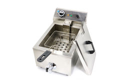 Professional Electric Fryer Stock Images
