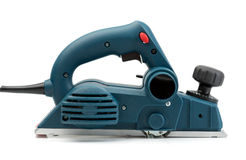 Professional electric planer, side view. Stock Photos
