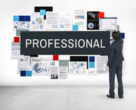 Professional Employee Occupation Organization Concept Royalty Free Stock Image