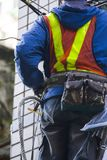 Engineer, Highrise Facade, Cable Engineering, Security, Stock Images