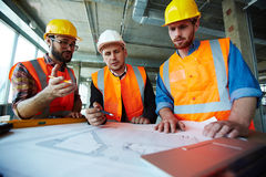 Professional engineers royalty free stock photo