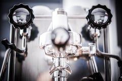 Professional Espresso Machine Royalty Free Stock Image