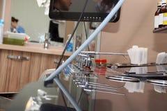 Professional EVO ENT Workstation. Medical equipment. Stock Photos