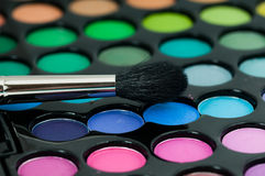 Professional eye shadows palette Stock Images