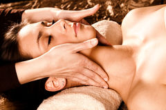 Professional face massage Royalty Free Stock Photos