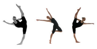 Professional female dancer in motion Stock Photo
