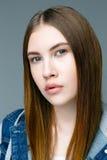 Professional female model. Royalty Free Stock Photo