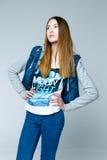 Professional female model. Royalty Free Stock Image