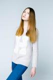 Professional female model Stock Image