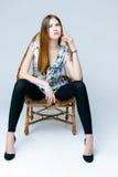 Professional female model Stock Photography