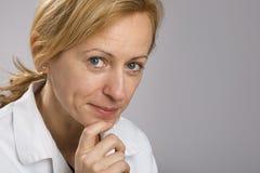 Professional female thinking Royalty Free Stock Photo
