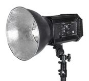 Professional flashlight Royalty Free Stock Image