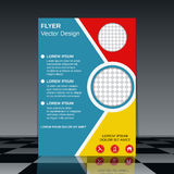 Professional flyer template Stock Photography