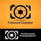 Professional Fotographer Logo stock photos