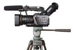 Professional full HD camcorder Stock Image