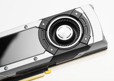 Professional gaming graphic card Royalty Free Stock Images