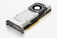 Professional gaming graphic card Stock Image