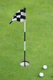Professional golf equipment Stock Photography