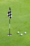 Professional golf equipment Royalty Free Stock Photography