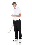 Professional golf player Stock Photo