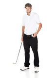 Professional golf player Royalty Free Stock Photo