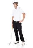 Professional golf player Stock Photos