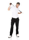 Professional golf player Stock Images