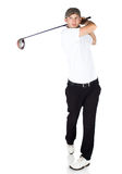 Professional golf player Stock Photos