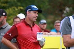 The professional golf player Padraig Harrington. royalty free stock photos