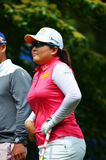 Professional Golfer Inbee Park KPMG Women's PGA Championship 2016 Royalty Free Stock Image