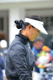 Professional Golfer Michelle Wie KPMG Women's PGA Championship 2016. Michelle Wie at the KPMG Women's PGA Championship Sahalee Country Club 2016 Washington State Royalty Free Stock Image