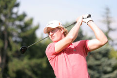Professional golfer Wil Besseling Royalty Free Stock Image