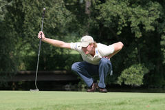 Professional golfer Wil Besseling Royalty Free Stock Photo