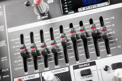 Graphic equalizer Royalty Free Stock Images