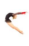 Professional gymnast Royalty Free Stock Photos
